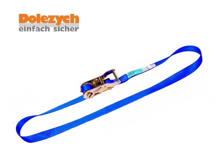 Spanband polyester eendelig met palwerk 4m B.25mm 1000daN Din 12195-2