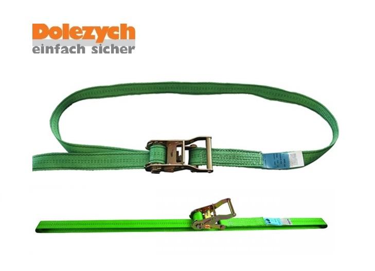 Spanband polyester eendelig met palwerk 6m/35mm 2000daN Din 12195-2