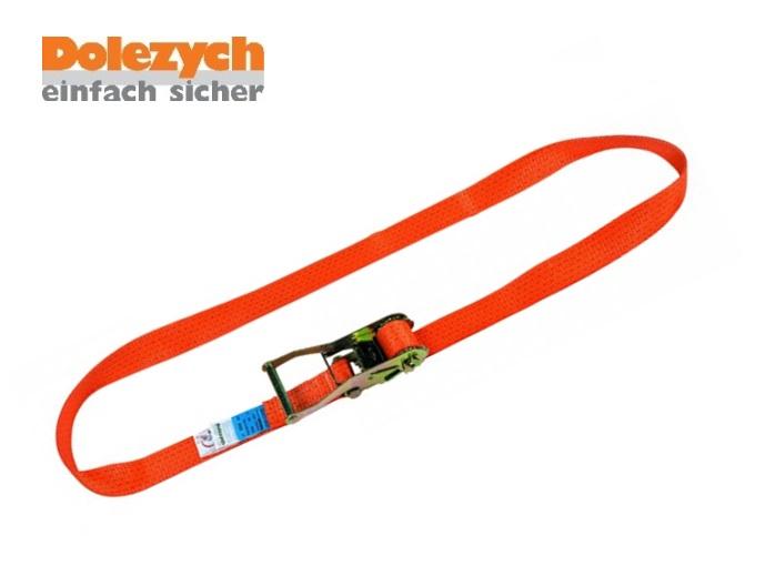 Spanband polyester eendelig met palwerk 8m/50mm 5000daN Din 12195-2