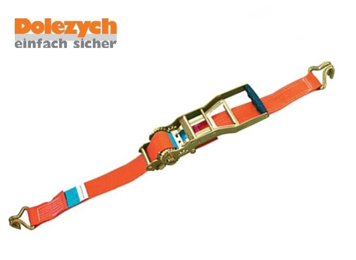 Spanband polyester 2-dlg met profielhaak 8m/50mm 5000daN Din 12195-2