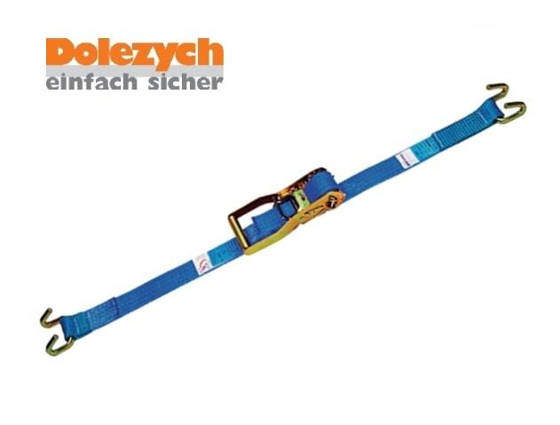 Spanband polyester 2-dlg met raamhaak 6m/50mm 4000daN Din 12195-2
