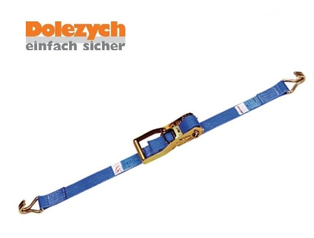 Spanband polyester 2-dlg met profielhaak 6m/50mm 4000daN Din 12195-2