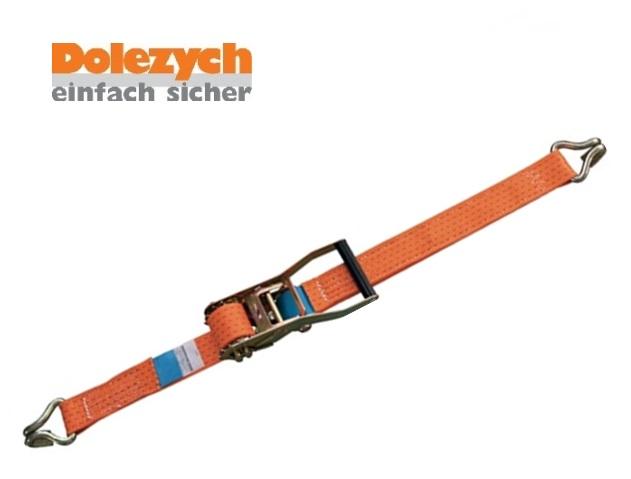 Spanband polyester 2-dlg met profielhaak 6m/50mm 5000daN Din 12195-2
