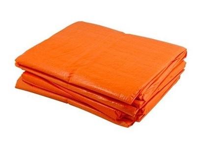 PE dekkleed Basic 4x6m oranje