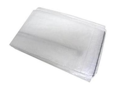 PE dekkleed Standard 2x3m transparant/wit