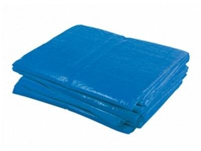 PE dekkleed Extra 4x6m blauw