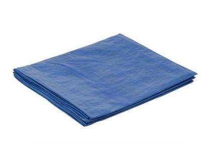 PE geweven doek 2x100m Standard blauw