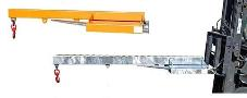 Lastarm starre uitvoering 1600mm-1,0 oranje 1600mm 1000kg Bauer LA