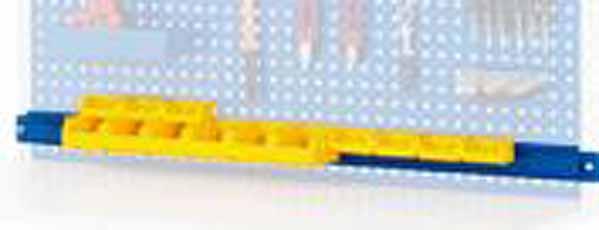 Holding rail voor opbergdozen B 750mm