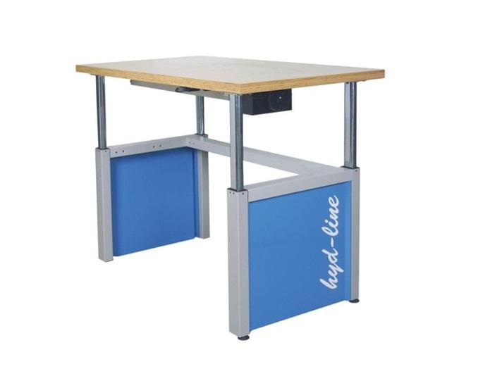 Werktafel,Verstelbaar Hydraulisch 600 kg Draagkracht