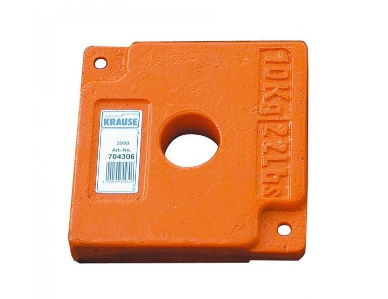 Ballastgewicht 10 kg Krause 704306