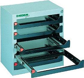 E-NORMpro Montagekoffer 577/5 voor 5 montage koffers