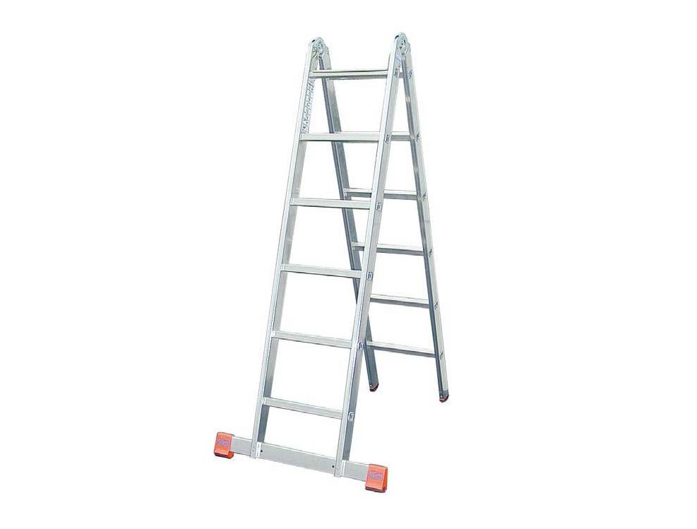 Vouwladder TRIMATIC 2x6 sporten Krause 121325