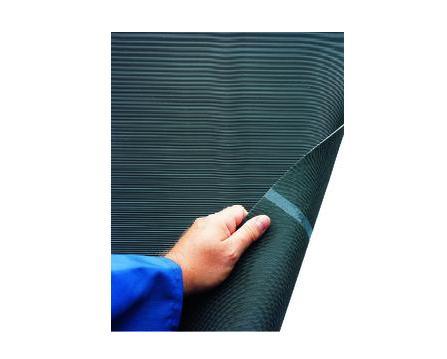Fijngegroefde mat 10mx1000mm