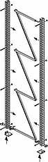 META MULTIPAL Staander SR 85/17 2200x800mm META 95465
