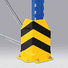 Hoekbeschermer zwart/geel inkl.Anker META 51059