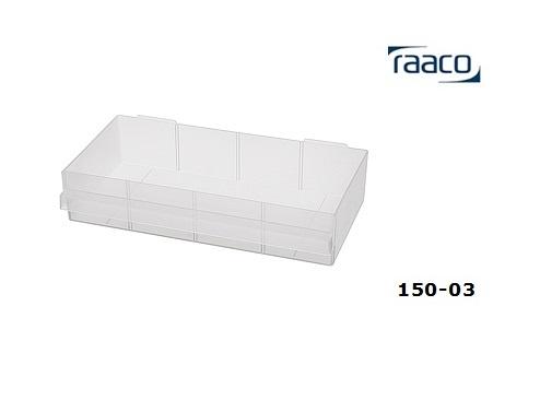 Lade type D 57x275x135mm Raaco 104708