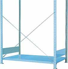 Diagonale balk 1000mm gegalvaniseerd META 4026212036336