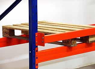 Backstop META MULTIPAL Zware Uitvoering 50mm 1800 mm Oranje META 89974