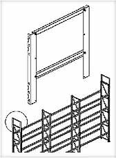 Stelling verhoger META MULTIPAL 500x800mm META 78107