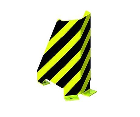 U Hoekbeschermer zwart/geel 400mm META 95843