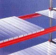 Meta-Multipal Stalen legbord 1800x800 Verzinkt 18 paneels META 57903