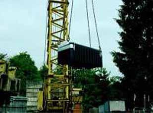 Gereedschapsbox PE 250 Liter Hijsbaar 1200x600x540mm Cemo 8616