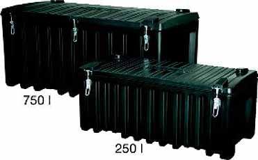 Gereedschapsbox PE-750 Liter 1700x840x800mm Cemo 8490