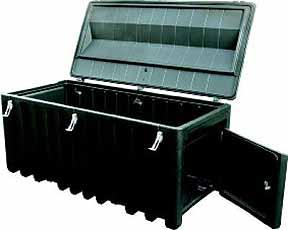 Gereedschapsbox PE -750 Liter met deur 1700x840x800mm Cemo 8491