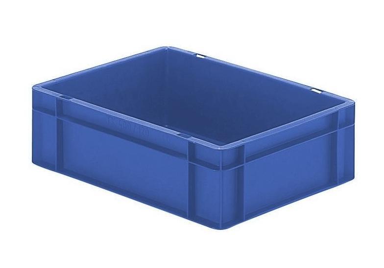 Transportbak 400x300x120mm blauw