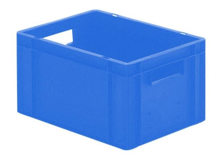 Transportbak 400x300x210mm blauw