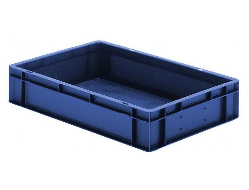 Transportbak 600x400x120mm blauw