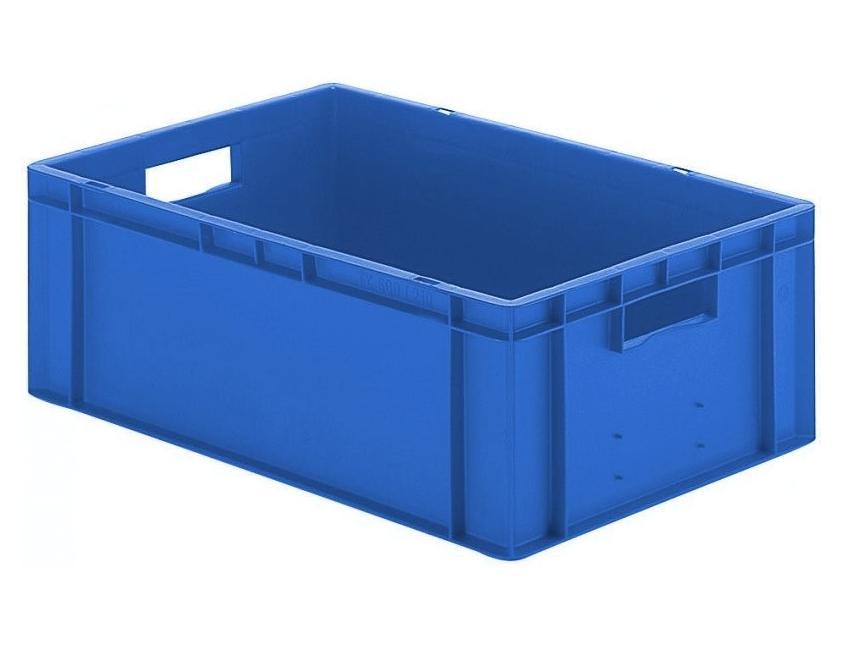 Transportbak 600x400x210mm blauw