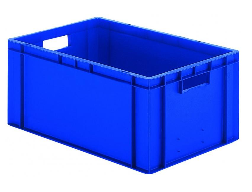 Transportbak 600x400x270mm blauw