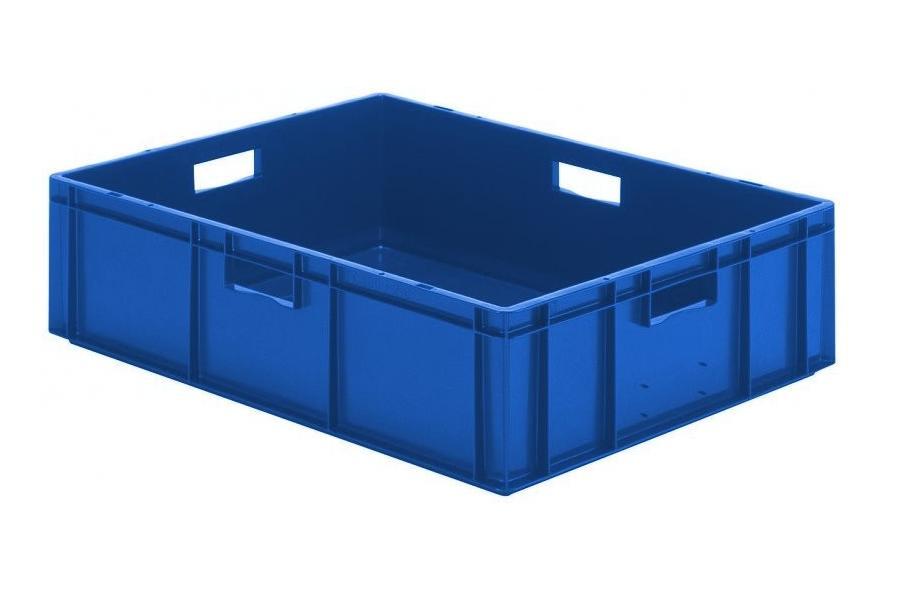 Transportbak 800x600x210mm blauw