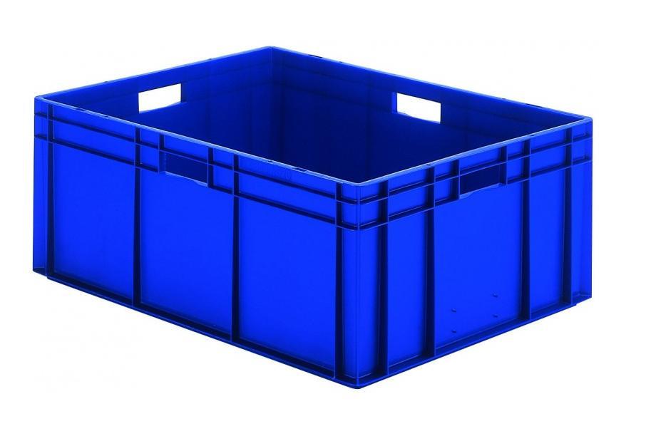 Transportbak 800x600x320mm blauw