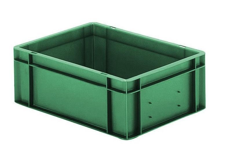 Transportbak 400x300x145mm Groen