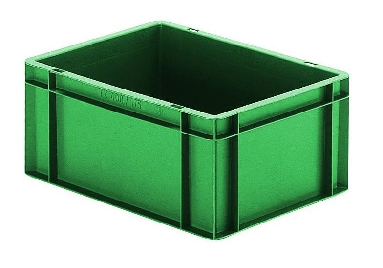 Transportbak 400x300x175mm Groen