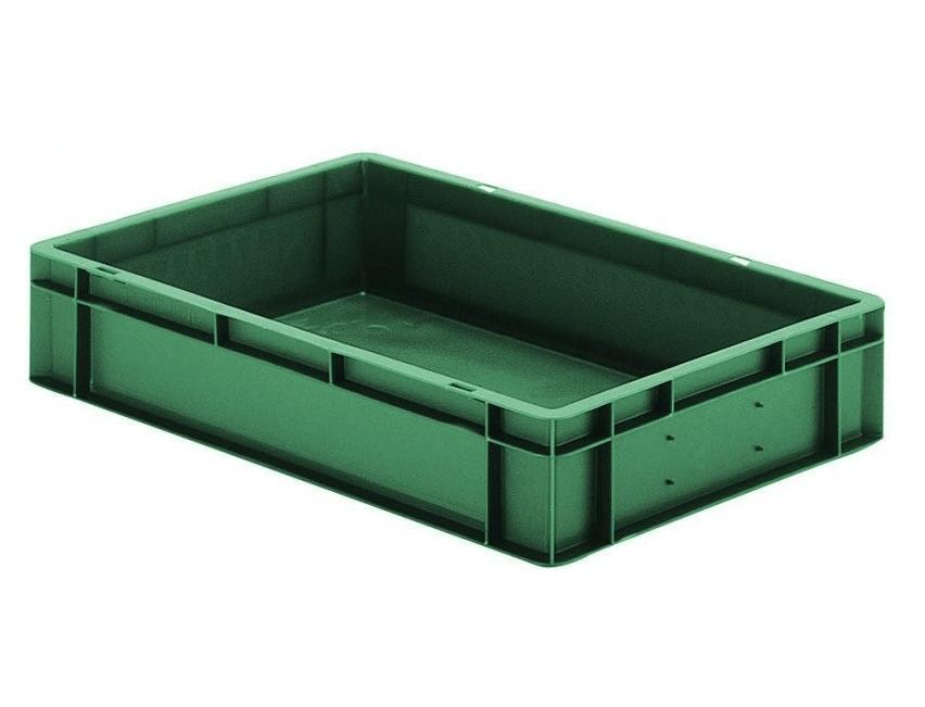 Transportbak 600x400x120mm Groen