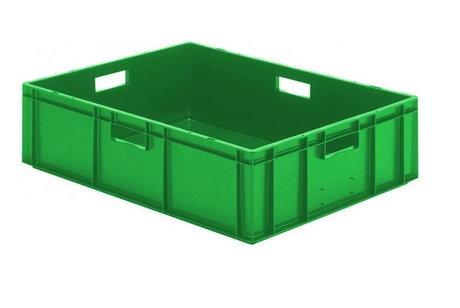 Transportbak 800x600x210mm Groen