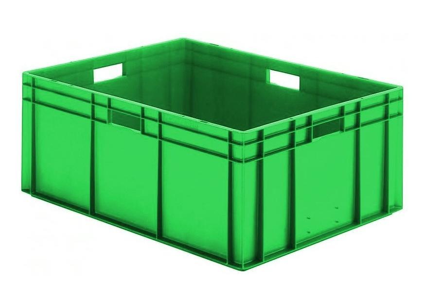 Transportbak 800x600x320mm Groen