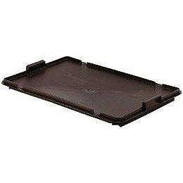 Deksel zwart voor Draaistapelbak 600x400x250