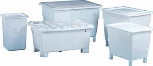 Grote Bakken Uit polyethyleen Inhoud 125 Craemer 81031110
