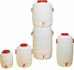 Kunststofvat rond 10 liter Ø235mm GRAF 710010