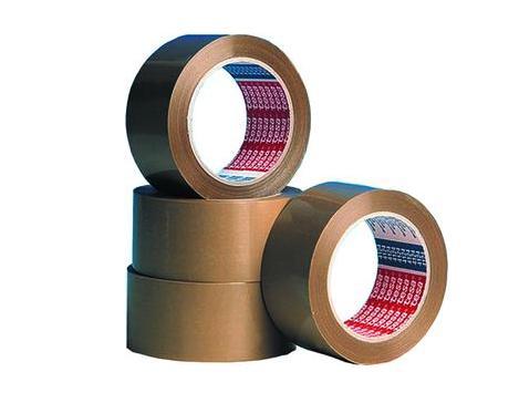 Verpakkingstape 66m x38mm bruin Tesapack 57175