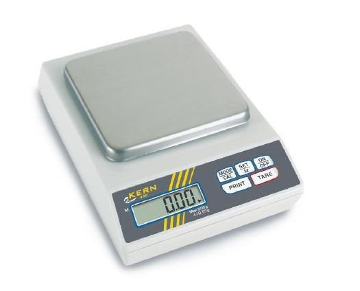 Precisieweegschalen 130x130mm 400 gram Kern 440-43N