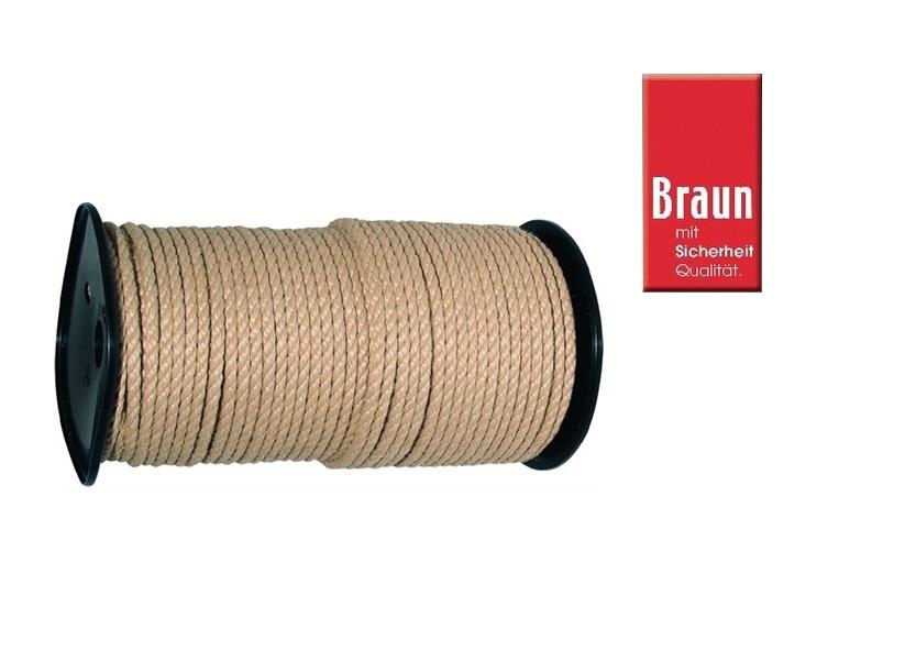 Multifunctioneel touw 100m Ø:6,0 mm