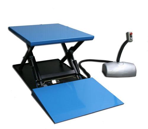 Stationaire Heftafel met oprijplaat | DKMTools - DKM Tools