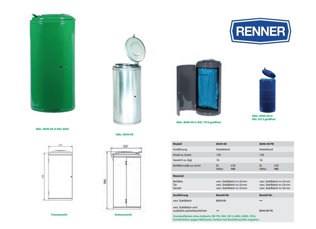 Afvalverzamelaar 8039-00