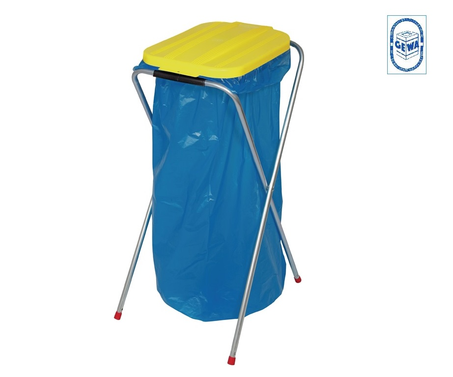 Afval sorteer systeem 1 x 70-120 geel 810x370x410 Werth AS2013